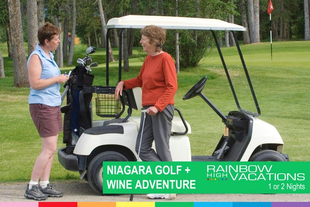 WOMEN'S GOLF AND WINE