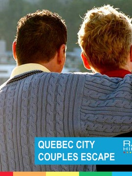 QUEBEC CITY COUPLES ESCAPE