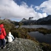 Hiker at Tasmania's Cradle Mountain and Dove Lake.jpg