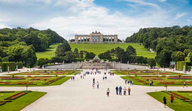 Palace and Gardens of Schönbrunn you gotta go here