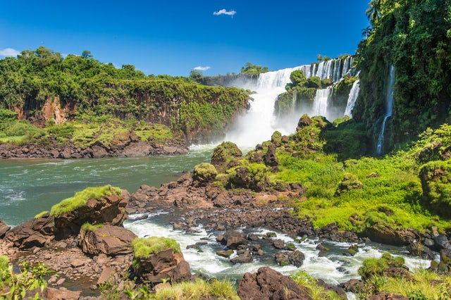 Iguazu National Park you gotta go here