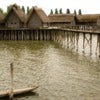 The Pfahlbaumuseum Unteruhldingen or Stilt House Museum situated along the Bodensee, Germany. Reconstructions of stilt houses or lake dwellings from the Neolithic Stone age and Bronze Age.jpg