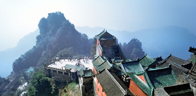 Ancient Building Complex in the Wudang Mountains you gotta go here