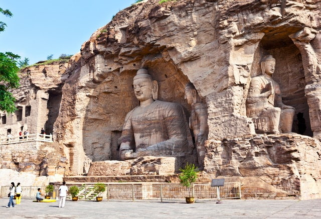 Yungang Grottoes you gotta go here