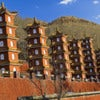 Government pagodas in the Buddhist monastery in Wutai Shan in China.jpg
