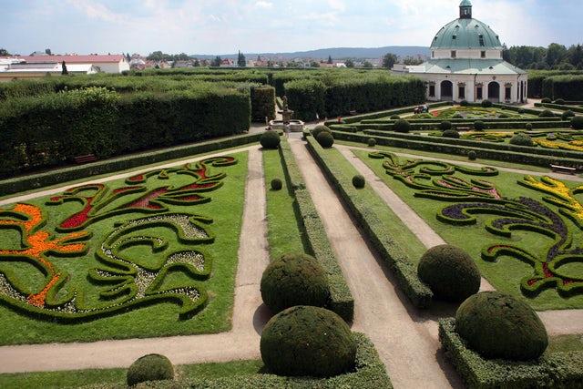 Gardens and Castle at Kroměříž