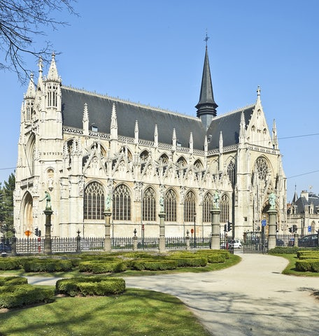 Notre-Dame Cathedral in Tournai