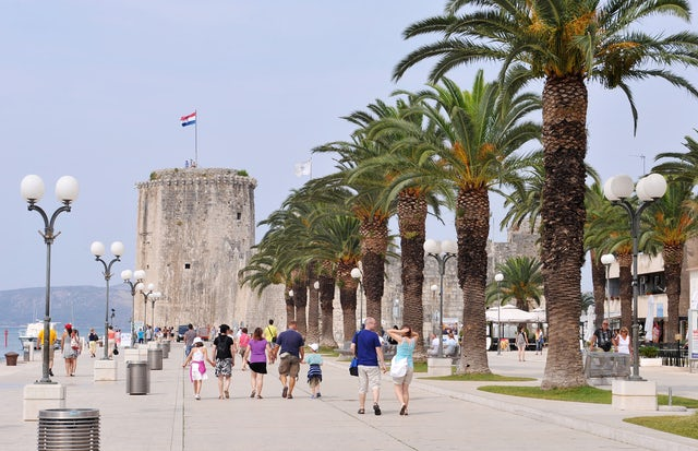 Step back in time with a visit to the City of Trogir