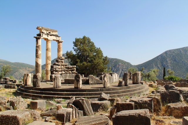 Archaeological Site of Delphi you gotta go here