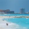 Blue ocean in cancun mexico.jpg