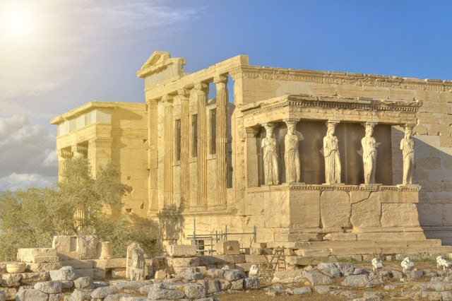 Visit Erechtheion its a can't miss thing to see