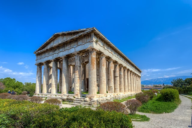 Discover the history of the Temple of Hephaestus