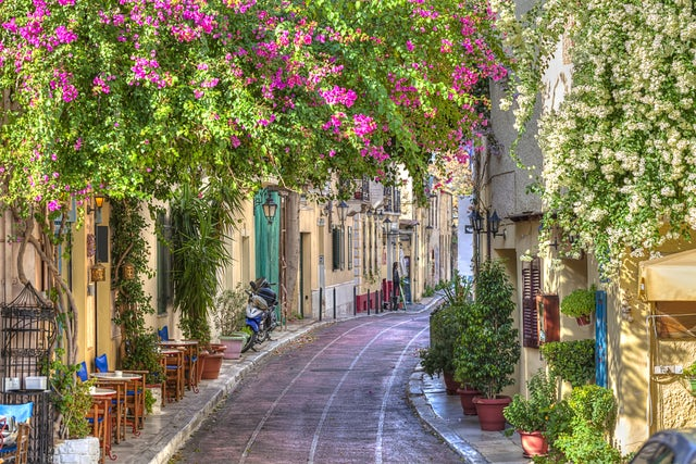 You didn't visit Athens if you missed the Plaka