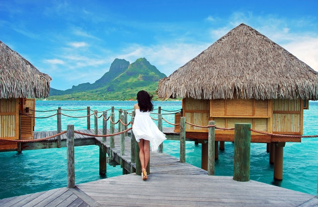 Αποτέλεσμα εικόνας για Four Seasons Resort Bora Bora Named Best Large Luxury Island Resort in the World