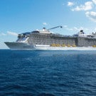 """New """"Quantum of the Seas"""" ship sails out of New York"""