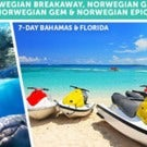 7-day Cruise to Bahamas and Florida from NYC Aboard the Norwegian Breakaway!