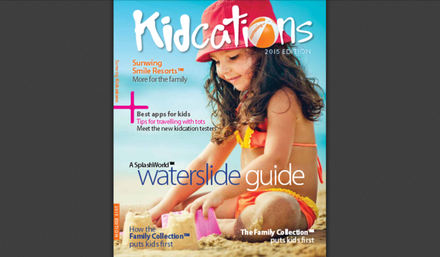 "Sunwing's ""Kidcation"" Brochure to download..."