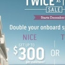 Princess Cruises Twice as Nice Sale