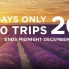 Trafalgar Tours has 20% off 100 trips!