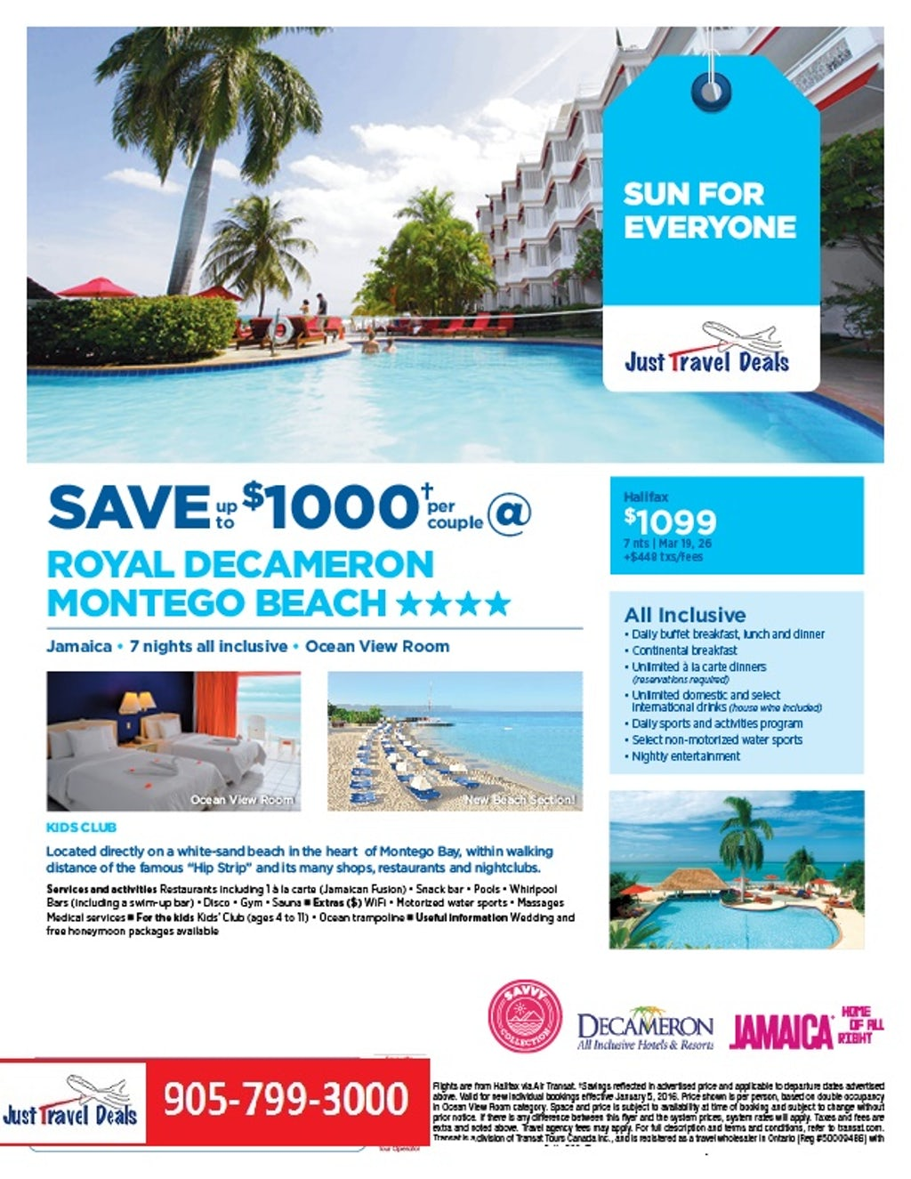 Save Up To 1000 Per Couple Royal Decameron Montego