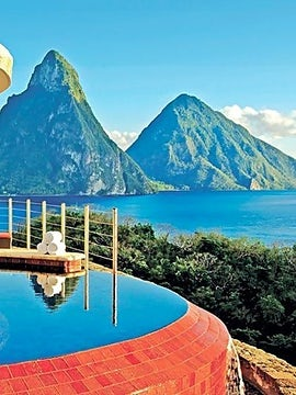 Experience A Life Of Luxury At Jade Mountain