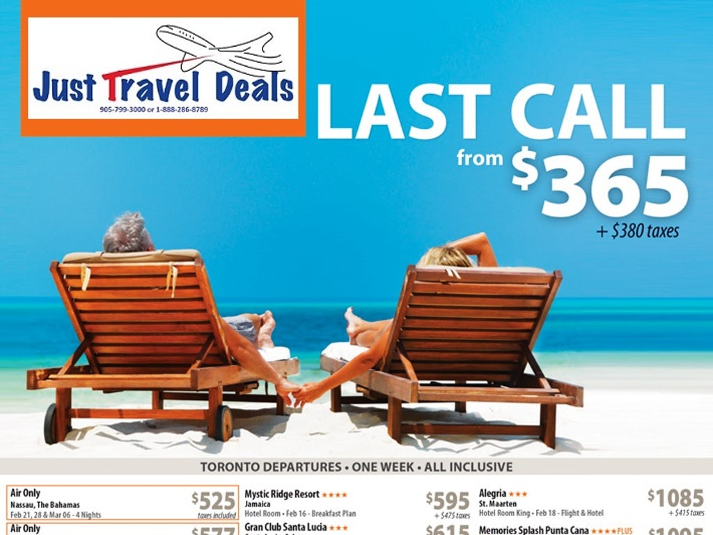 vacation packages from 365 toronto departures. Black Bedroom Furniture Sets. Home Design Ideas