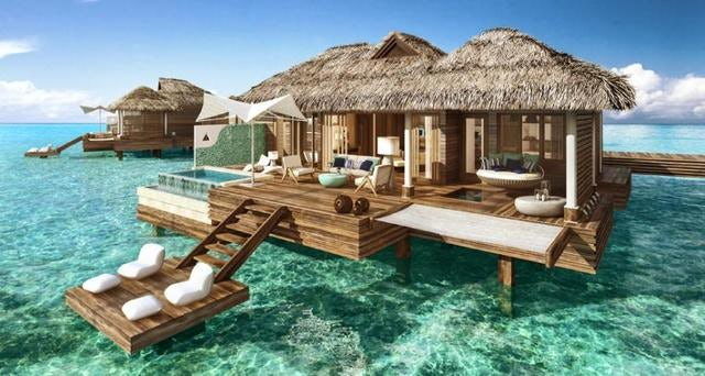 Sandals unveils over-the-water suites in Montego Bay