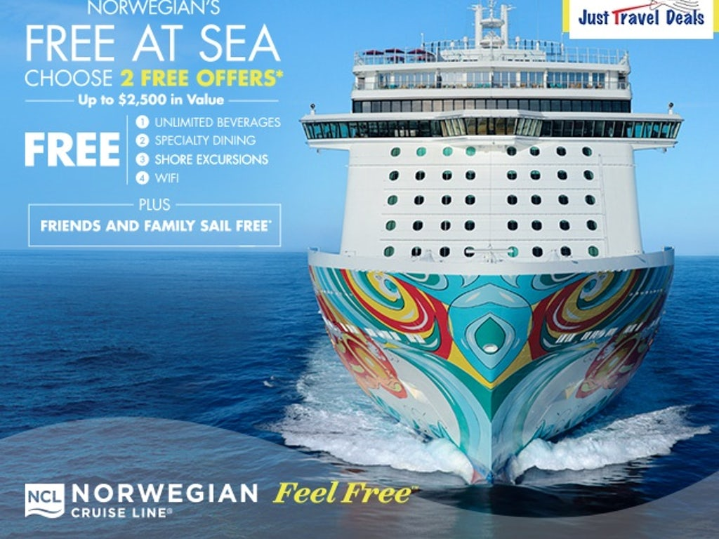 Last Chance for Norwegian's Best Free At Sea Promotion!