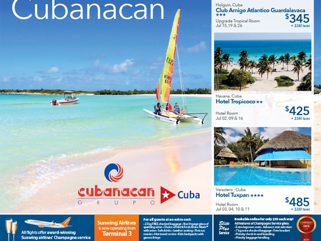 All Inclusive Cheap Vacations To Cuba From 345 Toronto