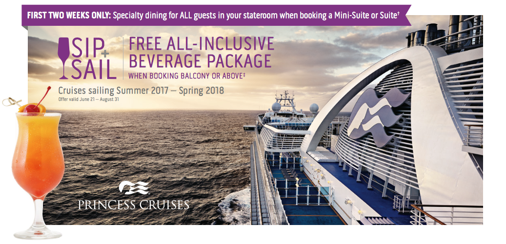 Princess Cruises: Sip & Sail