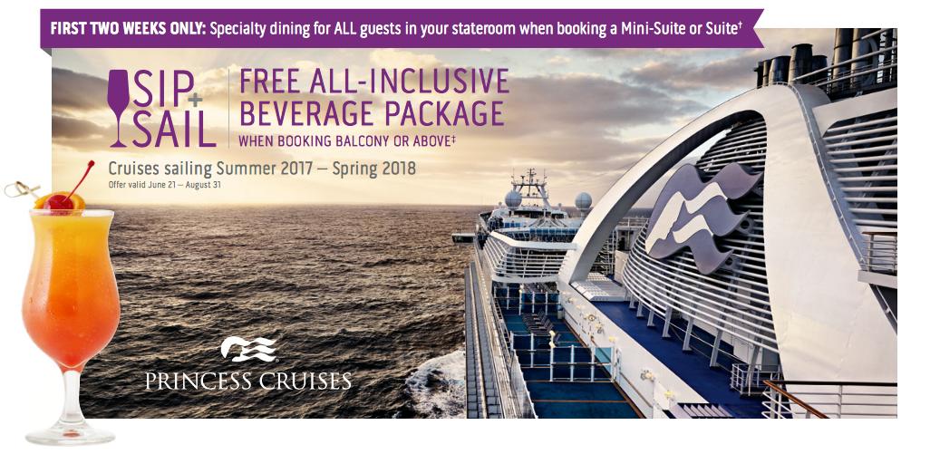 Princess Cruises: Sip & Sail
