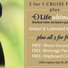 Oceania Cruises Offering 2-for-1 Cruise Fares until September 30th!