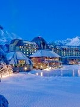Wake up to the mountains in Anchorage's Alyeska Resort