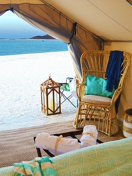 Glamping on Isla Espiritu Santo with Todos Santos Eco Adventures