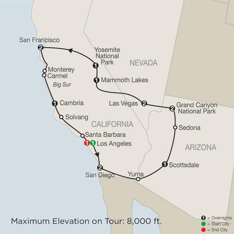 15-Day Western Explorer