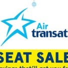 Transat Seat Sale - Wow!