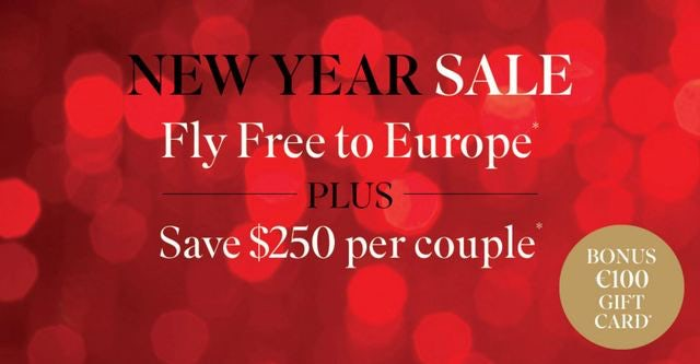 Fly Free to Europe When you Book a Scenic River Cruise
