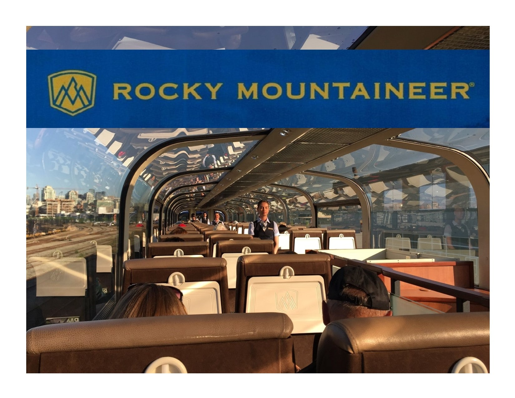 Rocky Mountaineer - Gold Leaf