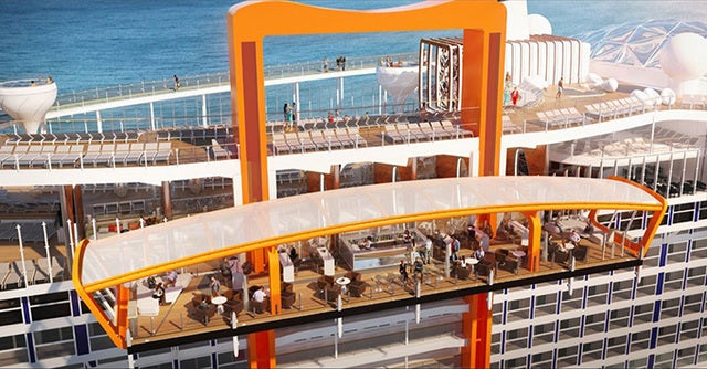 Sail on the new Celebrity Edge