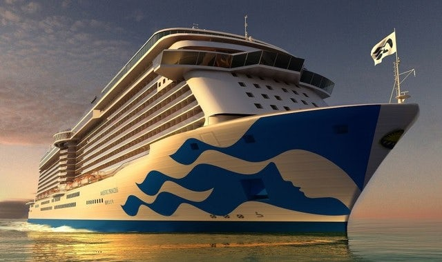 Majestic Princess to Dubai