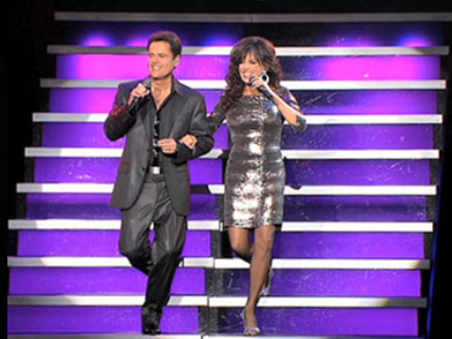 Donny and marie sandia casino