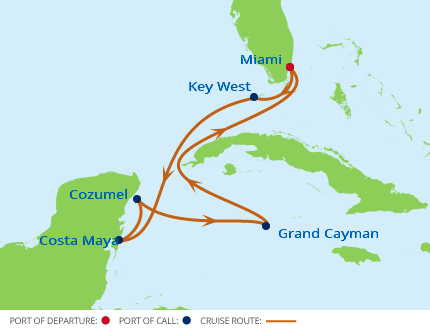 7-Night Western Caribbean CME Cruise August 13-20, 2017