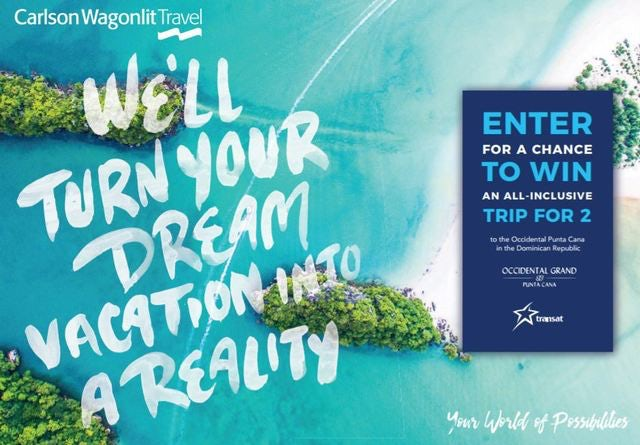 Enter to Win a Trip for 2 to Punta Cana!