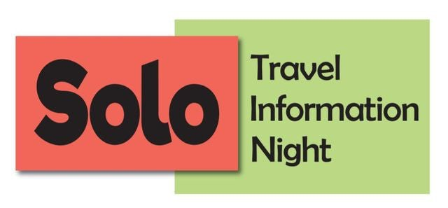 Are you a Solo Traveller? Meet Others at our Solo Travel Info Night