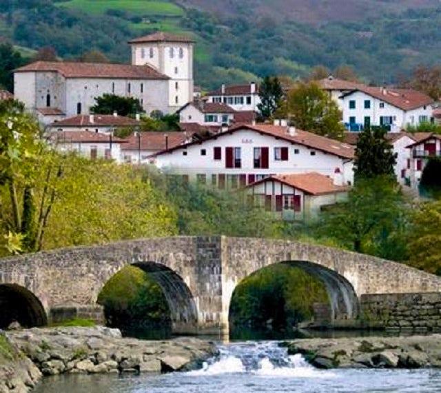 Bilbao, Spain - Ascain, France