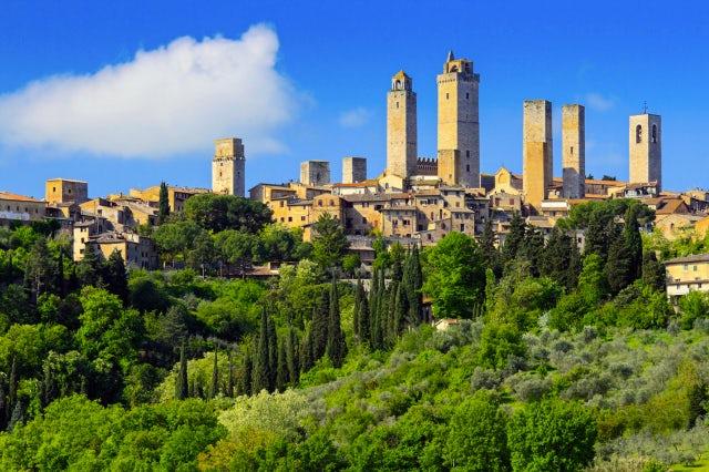 San Gimignana - Siena