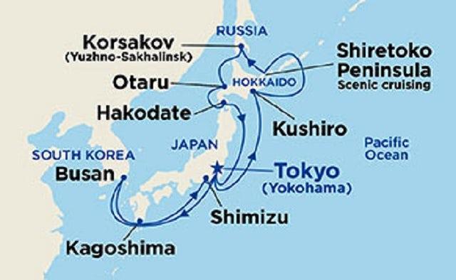 Hokkaido Explorer Map