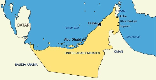 Discover the Emirates Map