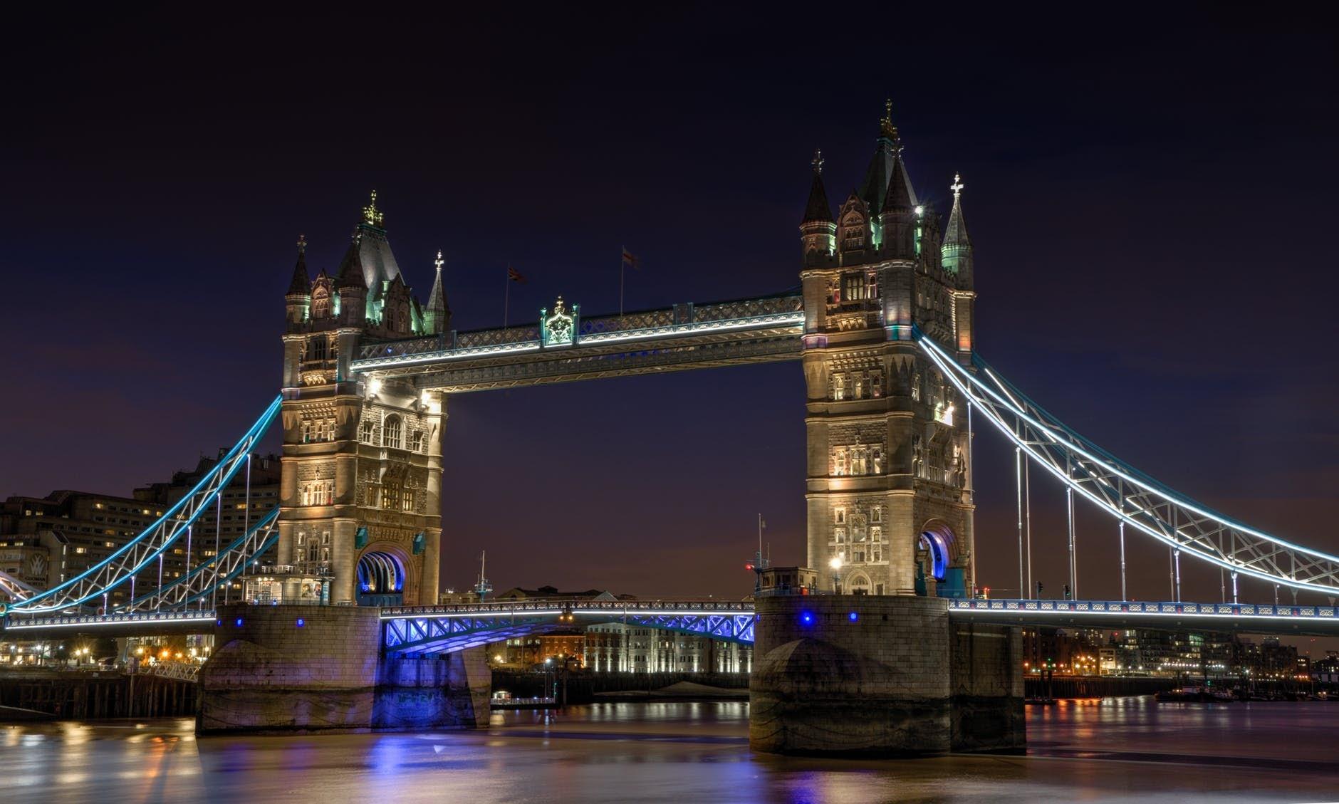 England's Famous Tower Bridge