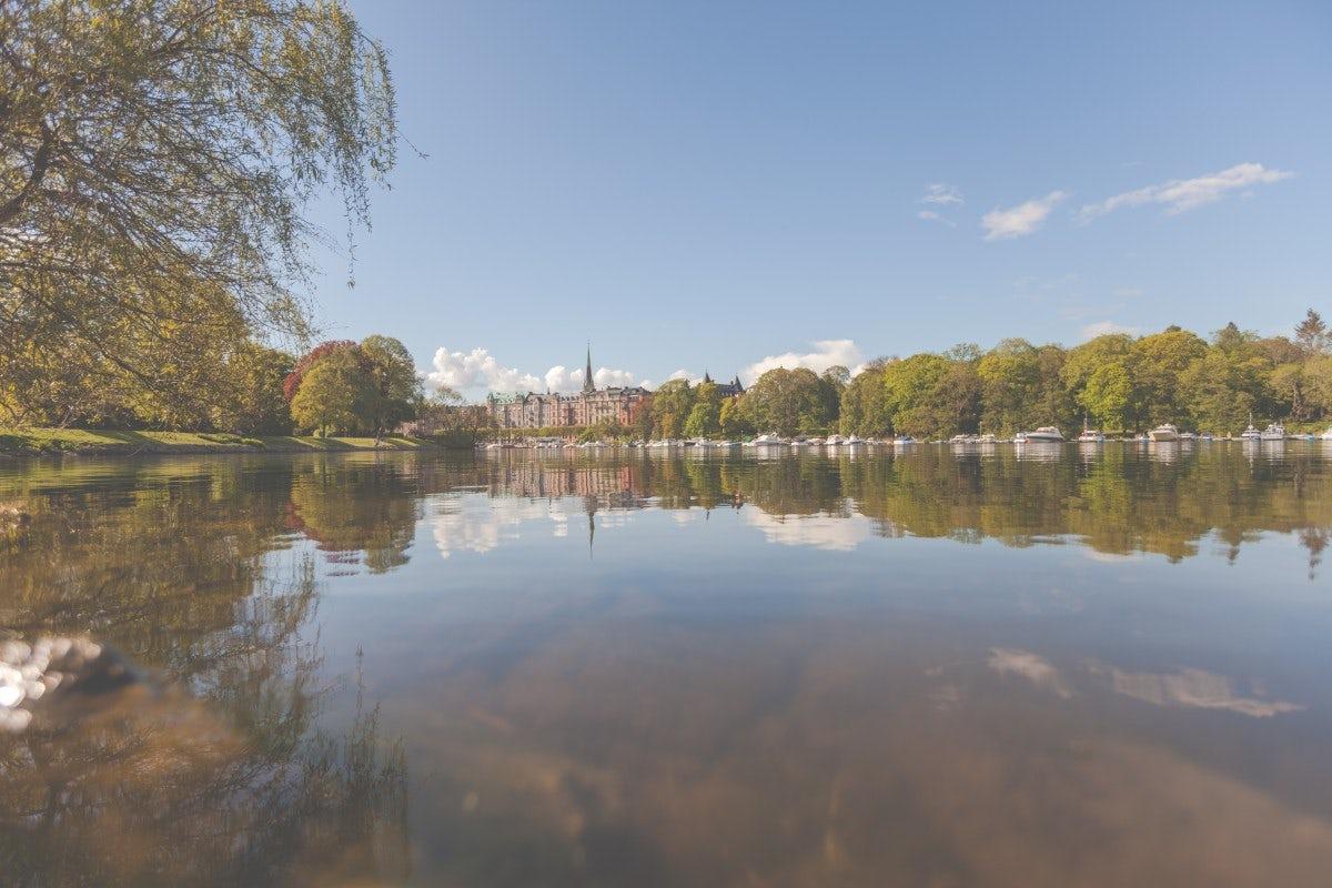 A good nature of Strockholm, Swedish